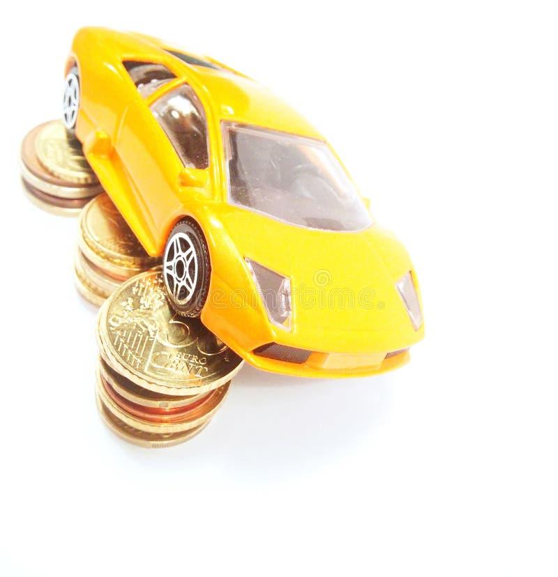 Ahorre el dinero para el coche foto de archivo libre de regalías