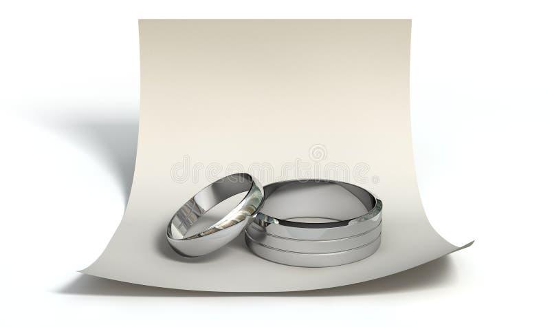 Ahorre los anillos de la fecha y obsérvelos libre illustration