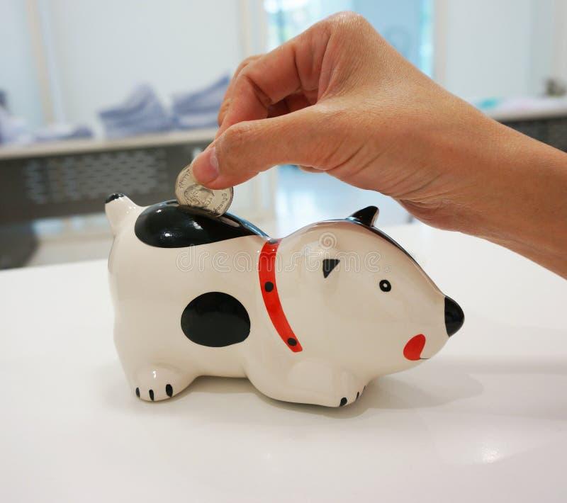 Ahorro de su dinero imagen de archivo