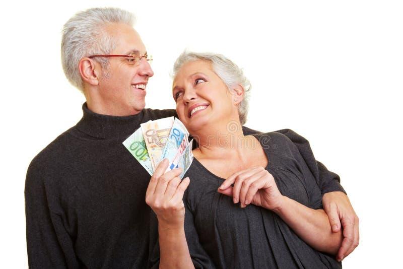 Ahorro para la pensión fotografía de archivo libre de regalías