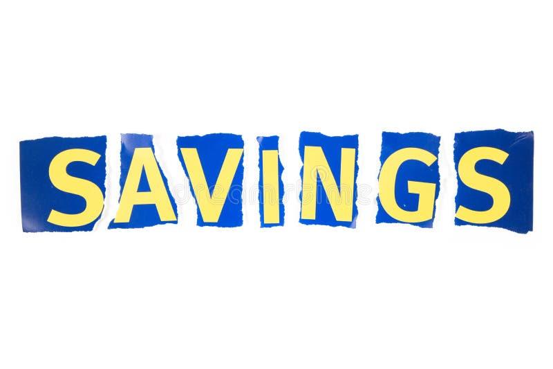 Ahorros fotos de archivo libres de regalías