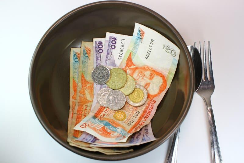 Ahorros de la comida imagen de archivo