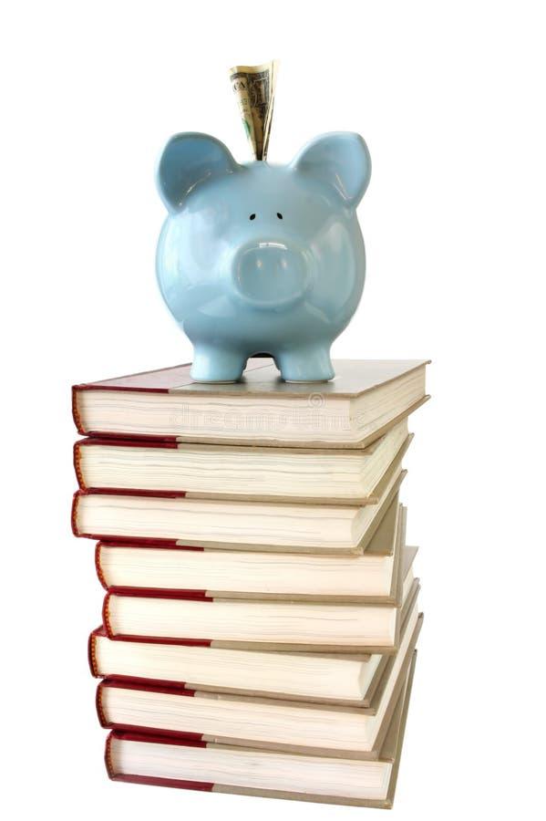 Ahorros de la universidad foto de archivo libre de regalías