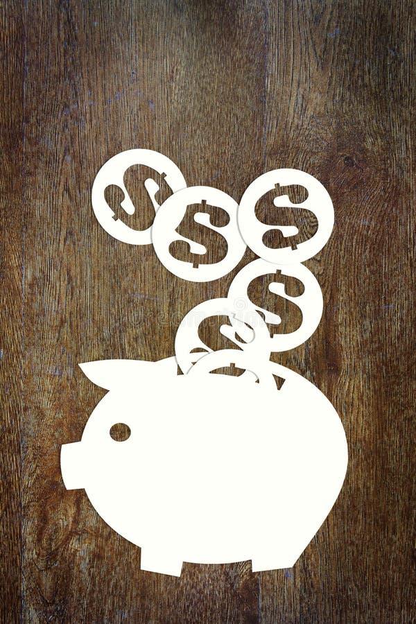 Ahorros el dinero imagen de archivo