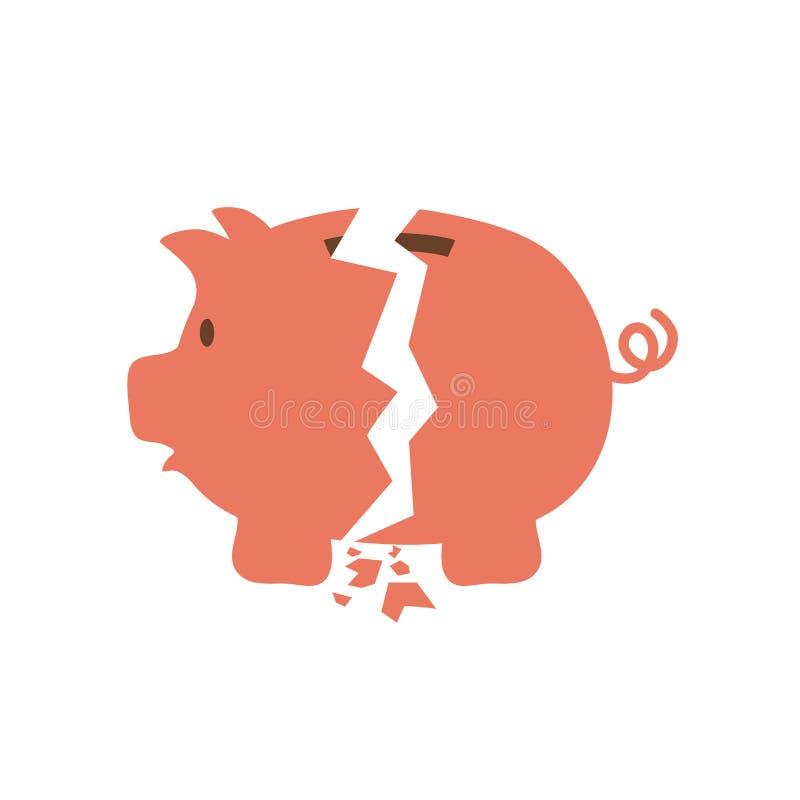 Ahorros guarros del dinero libre illustration