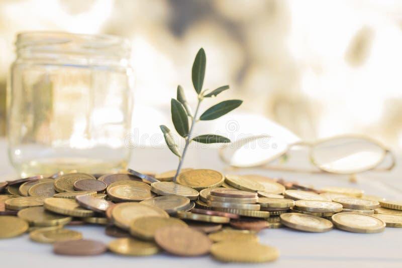 Ahorros y pensiones foto de archivo libre de regalías