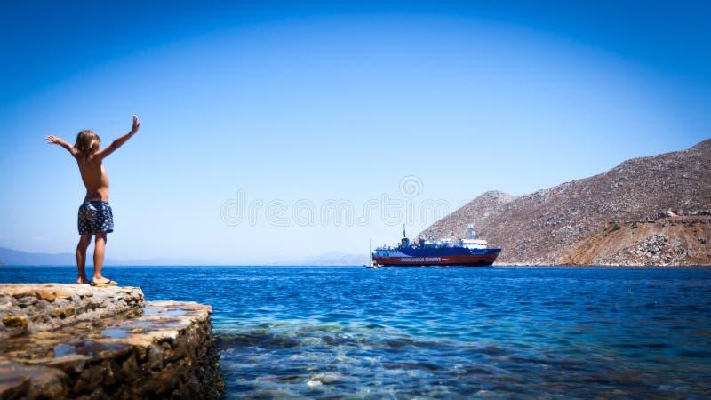 Ahoy! fotografia stock libera da diritti