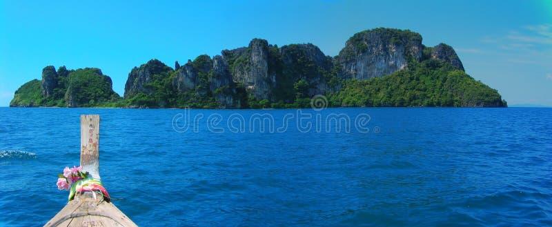 Ahoy Mosquito Island stock photo