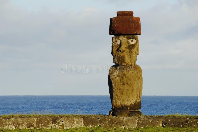 Ahu Tahai images libres de droits