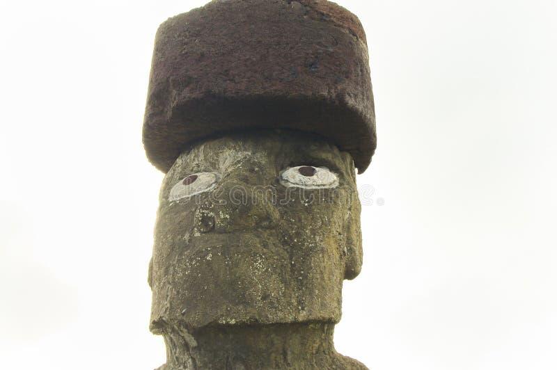 Ahu Tahai Moai photos stock
