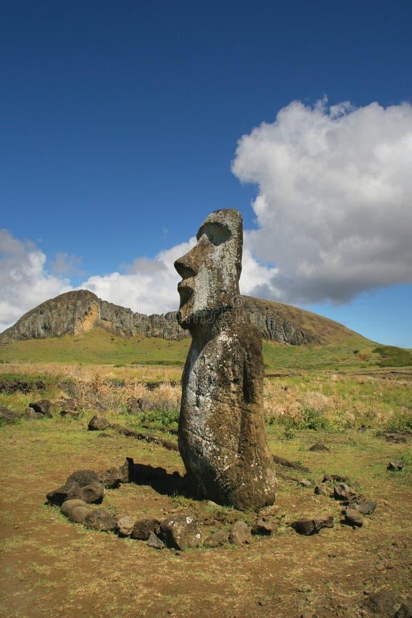 Ahu Tongariki, Easter Island royalty free stock photography