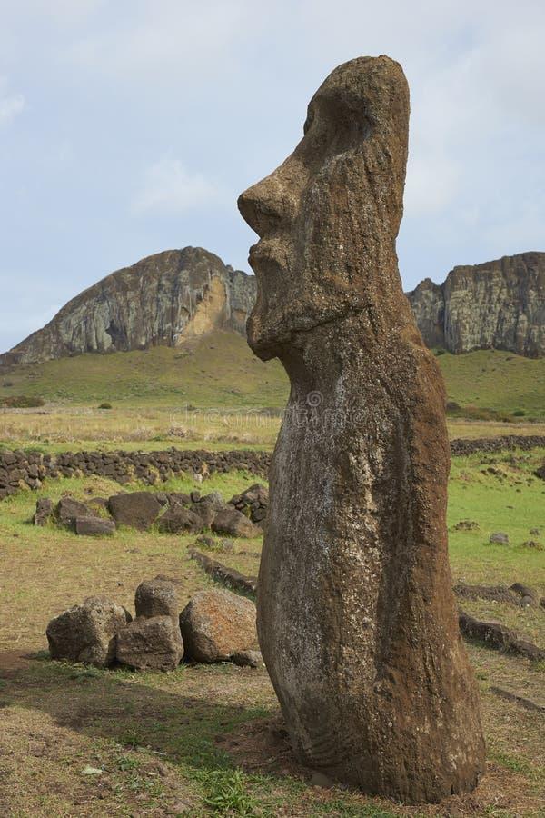 Ahu Tongariki, Easter Island, Chile stock photos