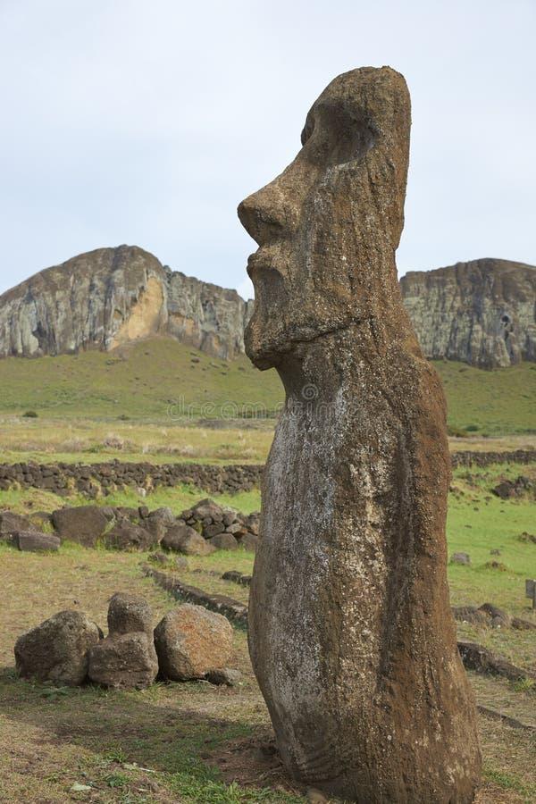 Ahu Tongariki, påskö, Chile royaltyfri fotografi