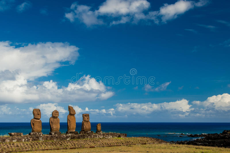 Ahu Vai Uri royalty free stock photos
