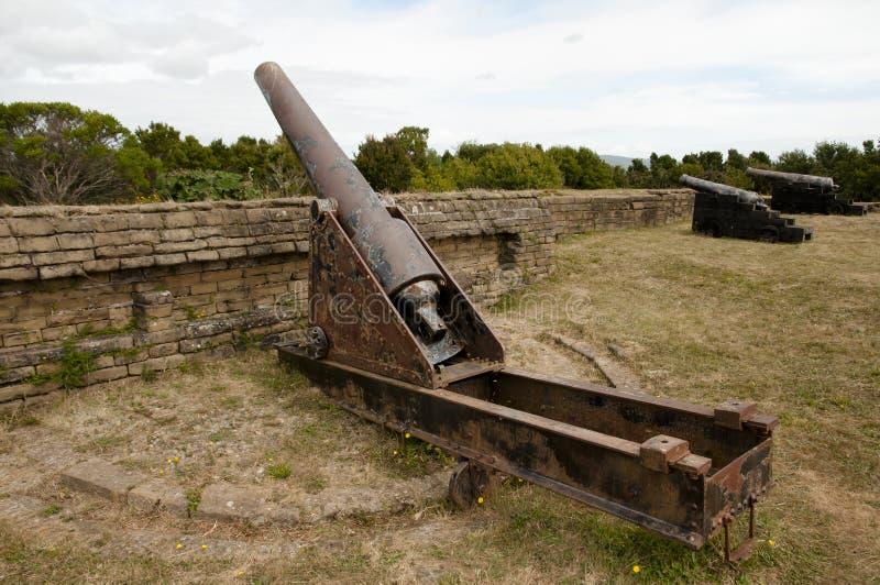Ahui Fort - Chiloe ö - Chile fotografering för bildbyråer