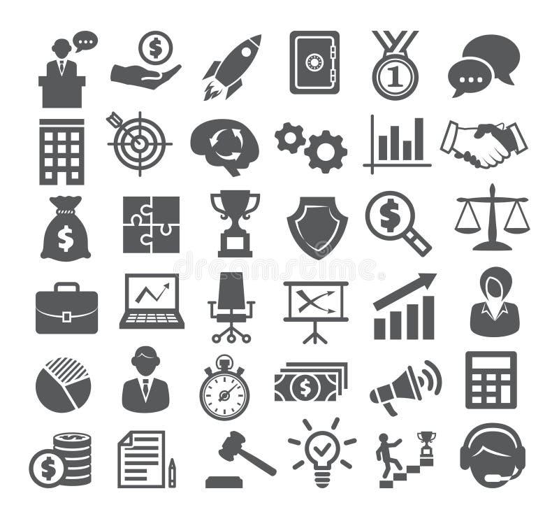 ai biznesu cs2 eps ikony zawierają Zarządzanie, marketing, kariera ilustracja wektor