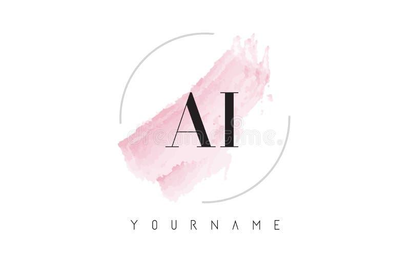 A I Letter Logo Design. Creative AI Letters Icon Stock ...