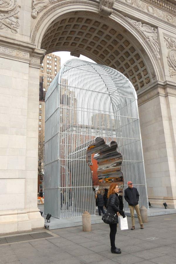 Ai Weiwei Art Installation royalty free stock image