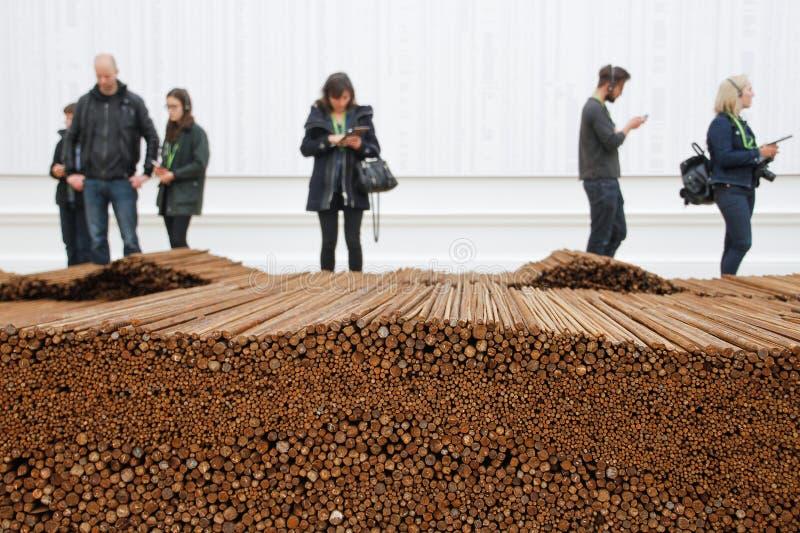 Ai Weiwei - gerade stockbild