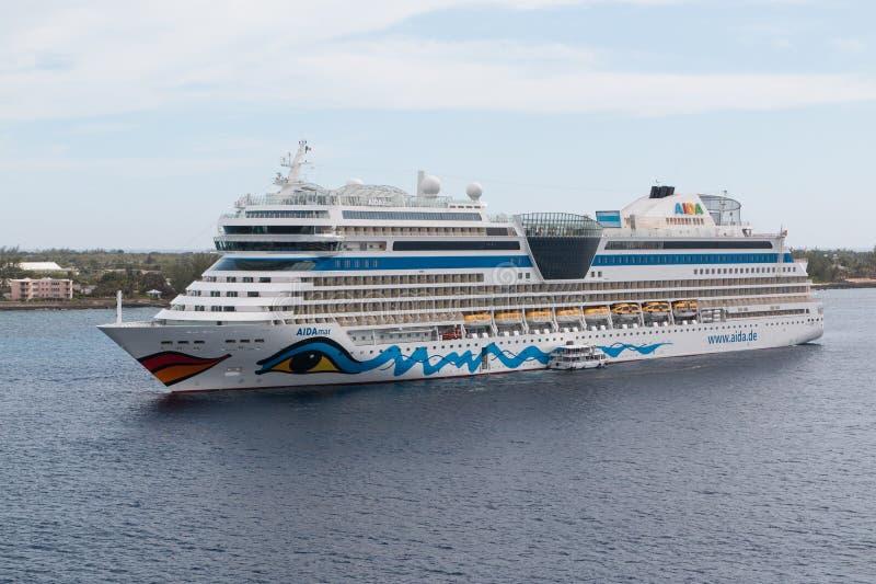 AIDA Cruises AIDAmar foto de archivo libre de regalías