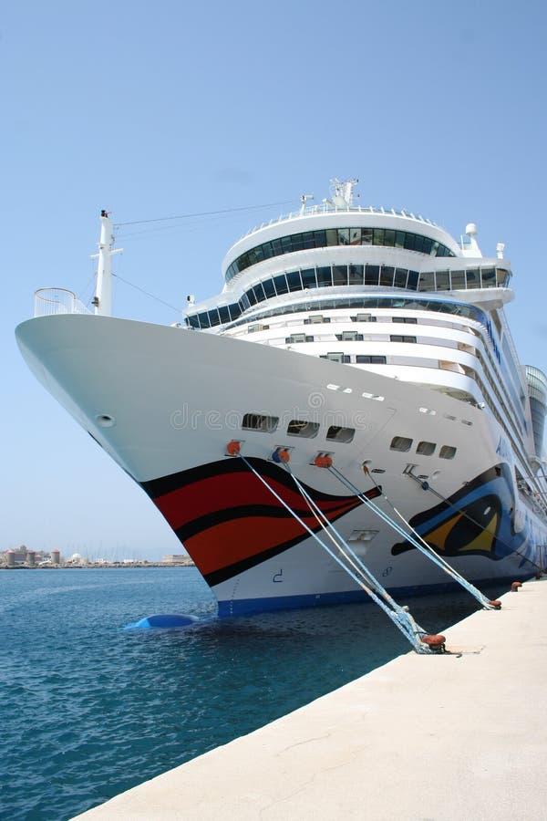 AIDA Kreuzschiff lizenzfreies stockbild