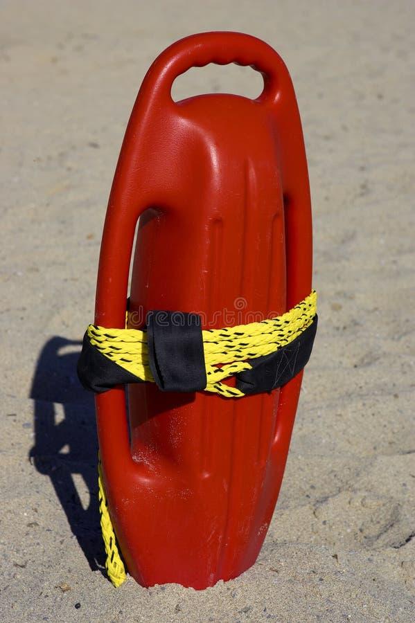Aide en plastique rouge de flottabilité photo stock