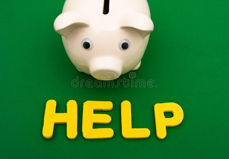 aide financière photos stock