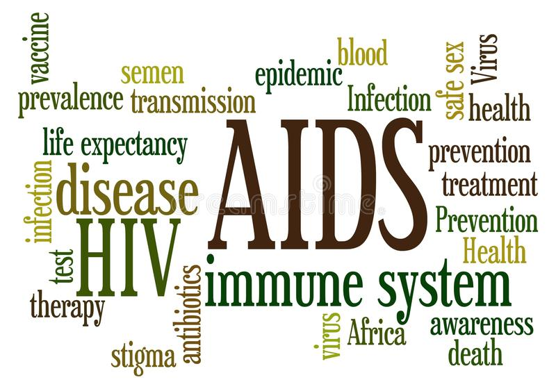 AIDS stock illustratie