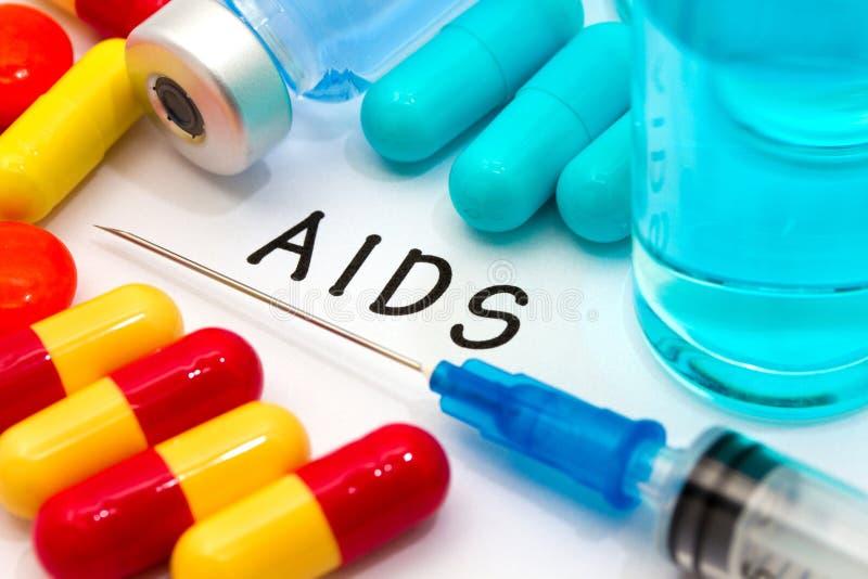 aids imagem de stock