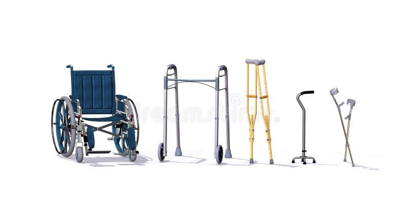 AIDS di mobilità royalty illustrazione gratis
