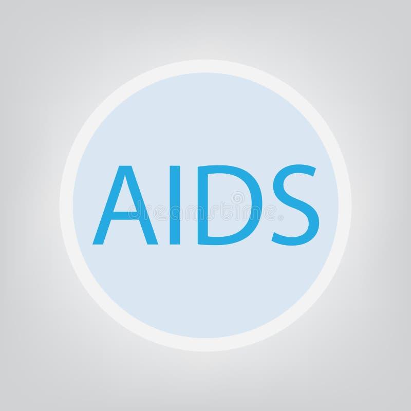 AIDS erworbenes Immunschwäche-Syndrom vektor abbildung