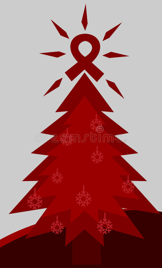 Aids tree stock photography