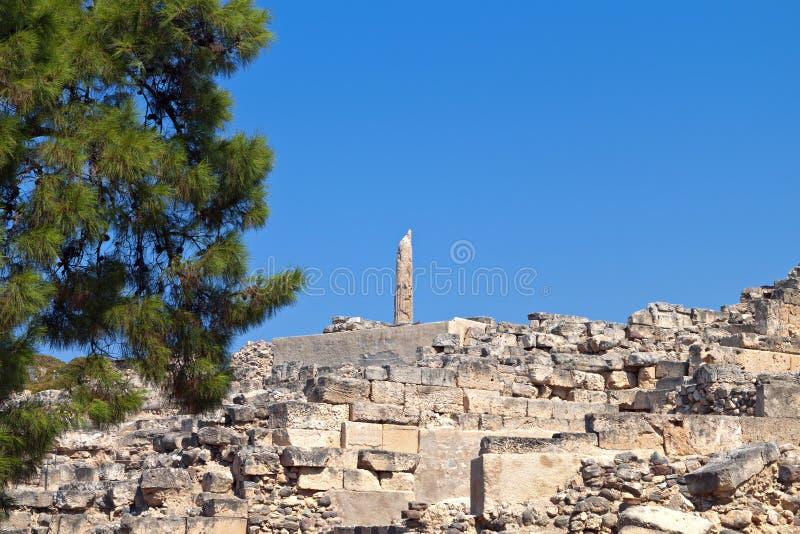 Aigina antique en Grèce photos libres de droits
