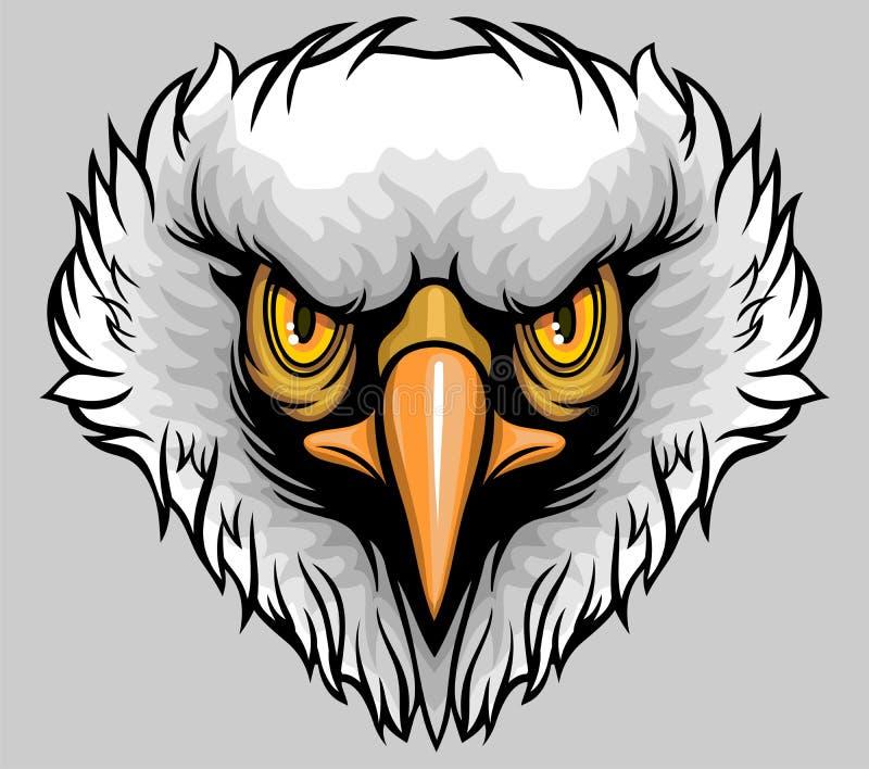 Aigle à tête blanche illustration libre de droits