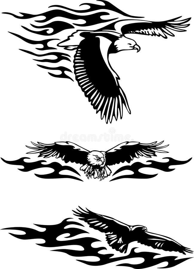 Aigle illustration stock