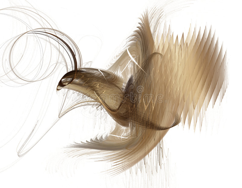 Aigle abstrait illustration libre de droits