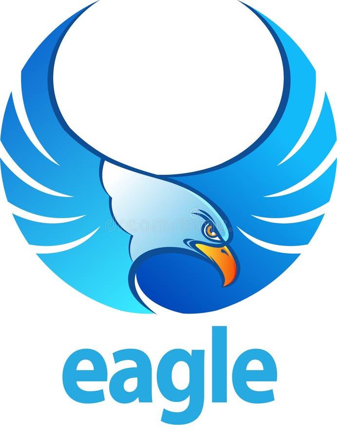 Aigle bleu illustration libre de droits