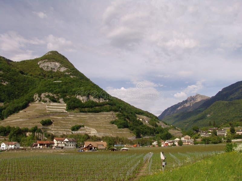 Switzerland, Aigle, May, 9, 2009: Aigle Castle royalty free stock photography