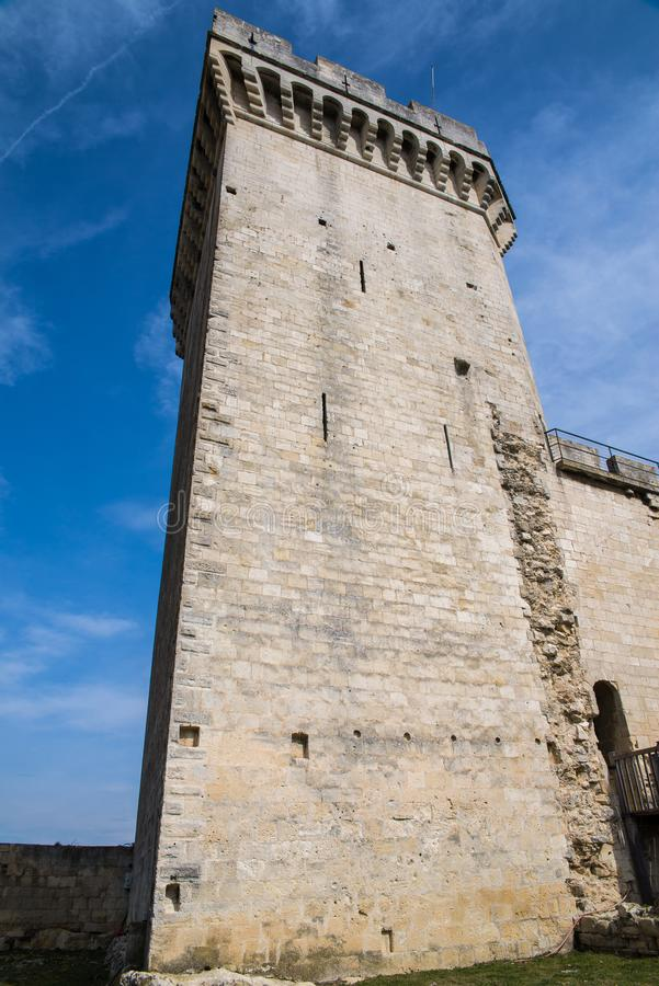 Aigues-Mortes royaltyfria bilder