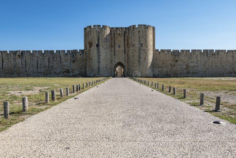 Download Aigues Mortes (Frances) image stock. Image du vieux, médiéval - 76083881