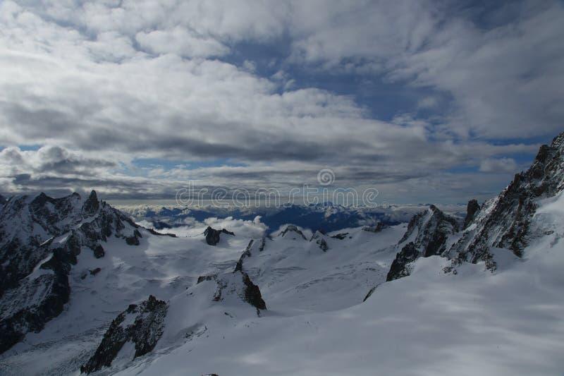 aiguille du Midi στοκ φωτογραφίες με δικαίωμα ελεύθερης χρήσης
