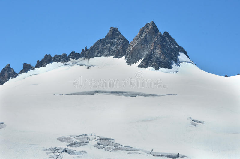 Download The Aiguille du Tour stock photo. Image of refuge, glacier - 25916052