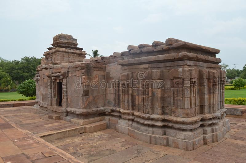 Aihole,卡纳塔克邦,印度 免版税库存图片