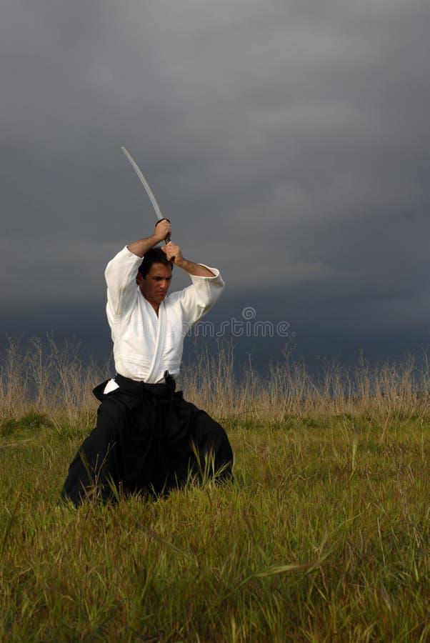 Aikido stock photo