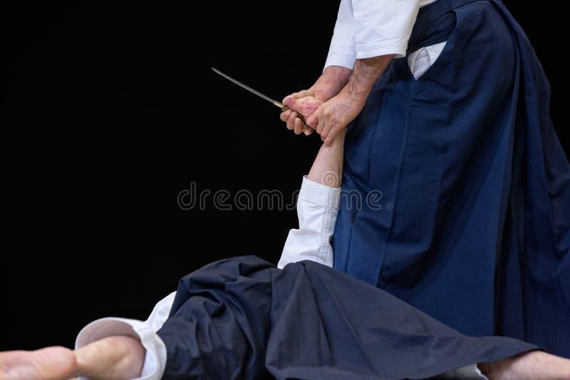 Aikido photos libres de droits