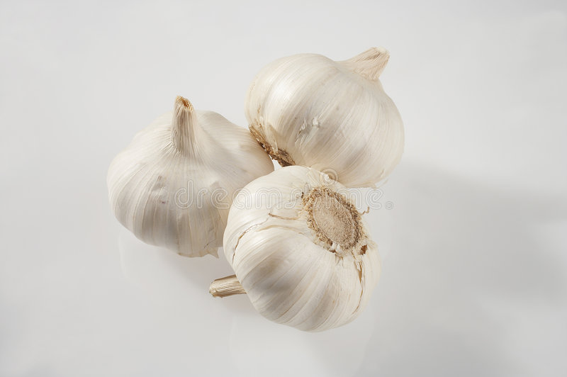 Ail - Knoblauch image stock