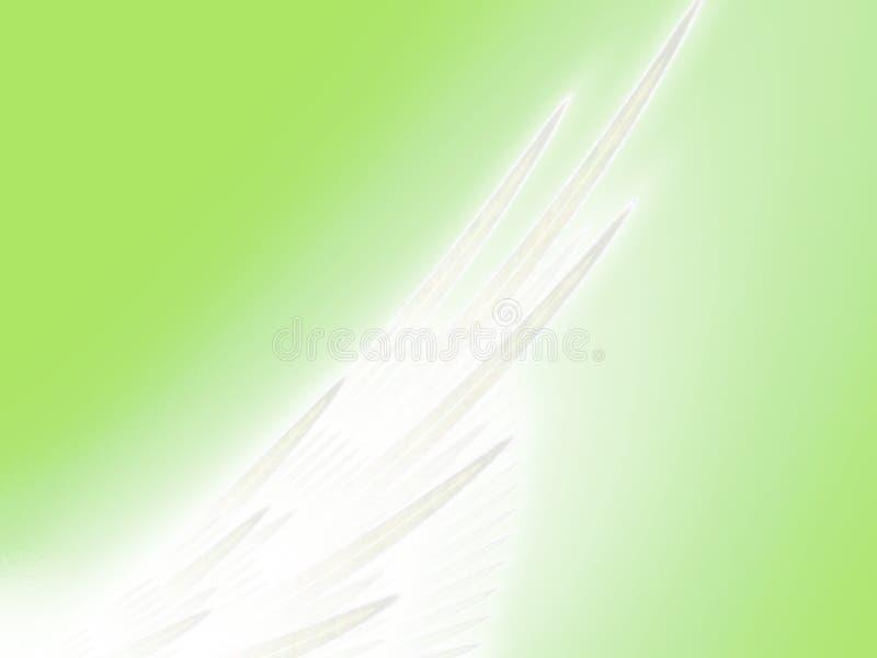 Aile angélique illustration de vecteur