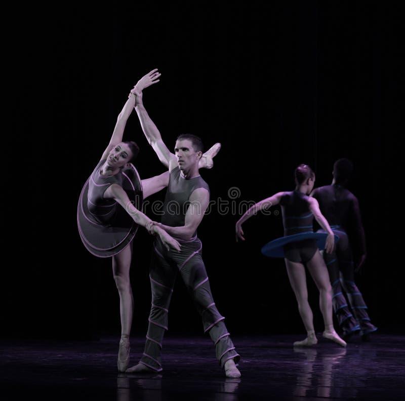 ` Aile-classique de collection d'Austen de ` de ballet de cygne images libres de droits