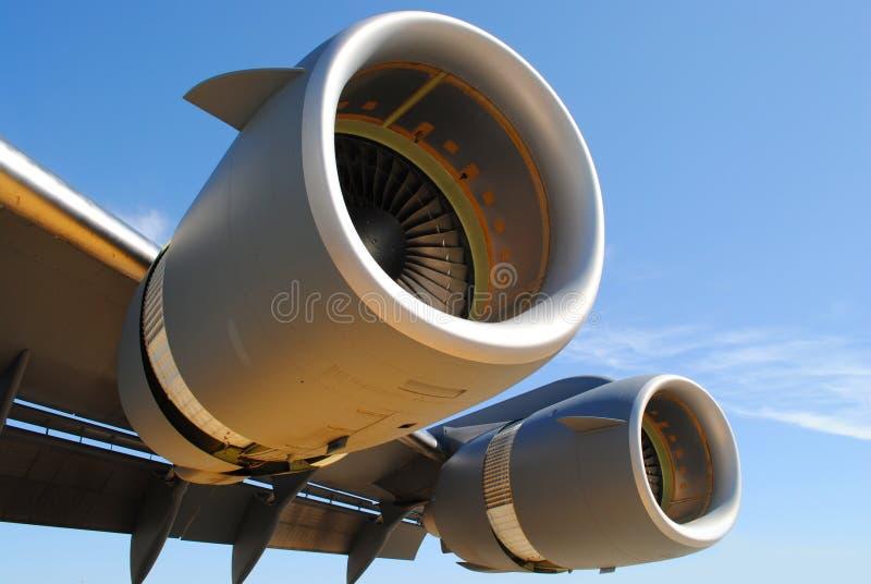 Aile d'avion images stock