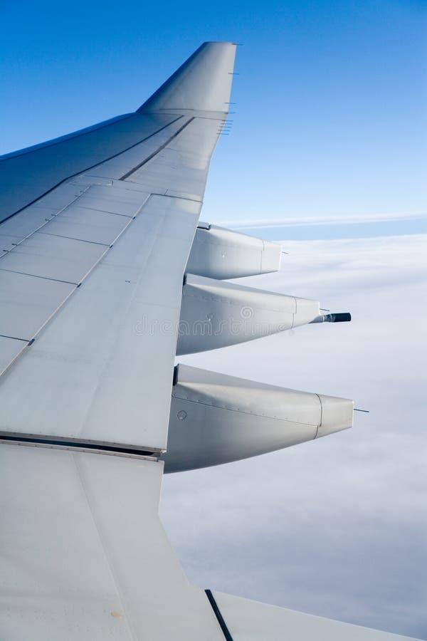 Aile d'avion photos stock